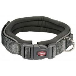 Halsband grijs met neopreen...