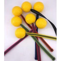 Drijvende bal geel met...